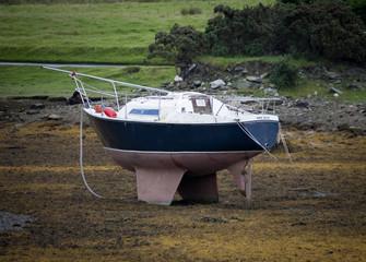 barca in secca