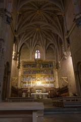 Interior de la Basilica de San Isidoro en León