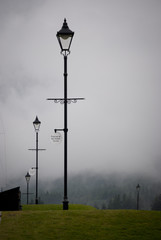 lampioni nella nebbia