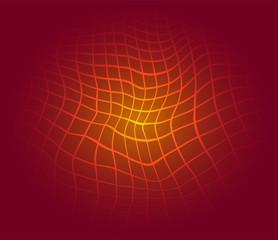 Red Grid Patterns background