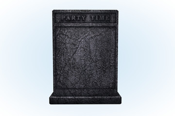 Party Time Tombstone