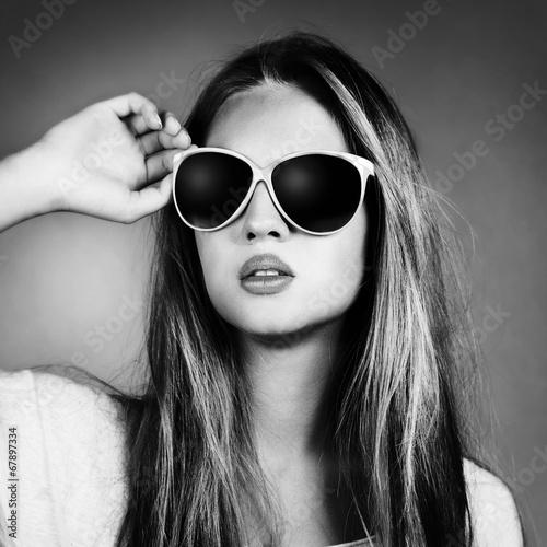 Portrait of teenage girl - 67897334