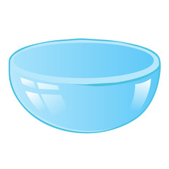 bowl isolated illustration