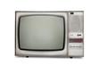 Old-fashioned tube TV