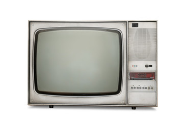 Old-fashioned tube TV