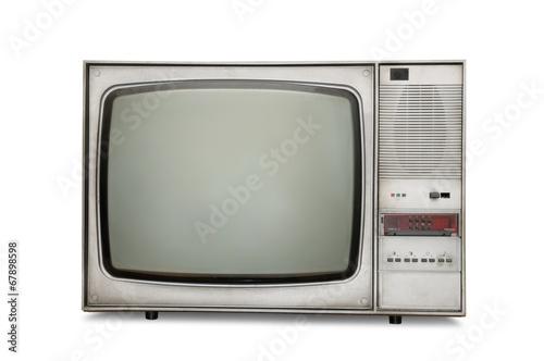 Old-fashioned tube TV - 67898598