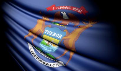 Flag of Michigan (USA)