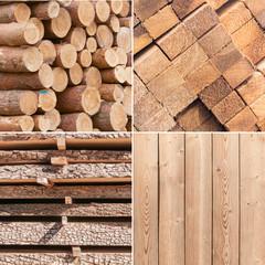 Holz, Verarbeitung, Baustoffe, nachwachsende Rohstoffe