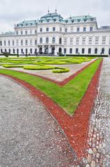 Upper Belvedere Palace in Vienna