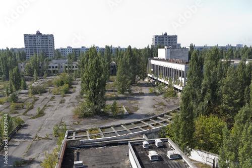 canvas print picture Chernobyl - Pripyat