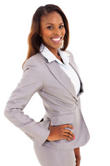 african businesswoman portrait