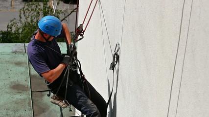 Worker climber