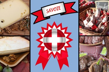 SAVOIE - Fromages  Charcuterie