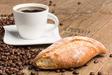 Fototapety Kaffee und Kaffeebohnen