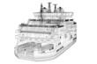 Leinwanddruck Bild - ferryboat