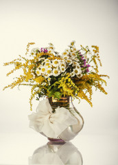Wildflowers in vase