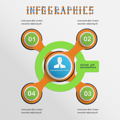 Presentation Infographics elements