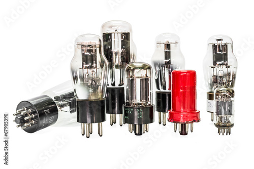 Vacuum electronic preamplifier tubes - 67905390
