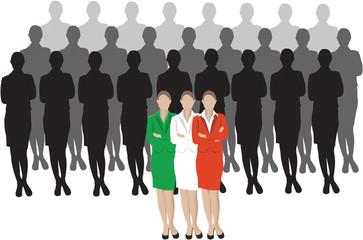 donne italiane in carriera