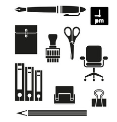 Retina Office Tools Icon Set