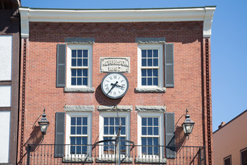 Clock on Old Morrison Building
