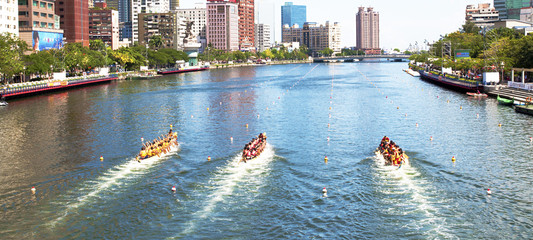Dragon Boat Races on the Love River