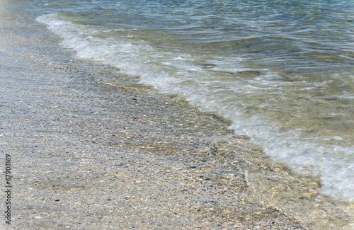 canvas print picture Welle am Meer