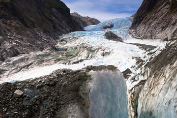 Scenic landscape at Franz Josef Glacier