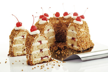 Frankfurter Kranz , close-up