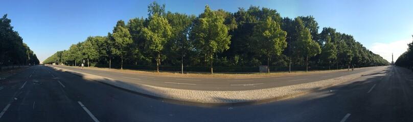 Berlin Tiergarten autofrei