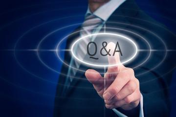 Q & A Concept