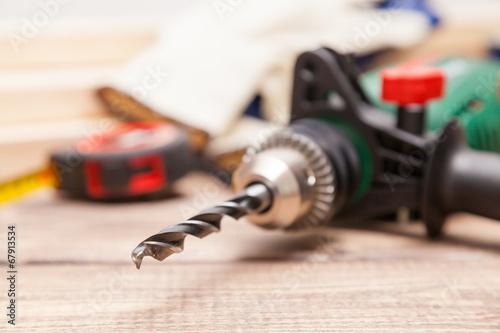 Leinwanddruck Bild Carpenter's workshop