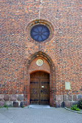 Kirchenportal Heiligenhafen