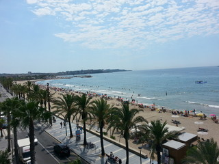 Costa brava in spain salou