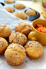Sweet potato (batata) buns