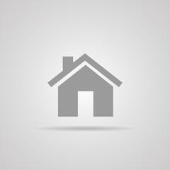 house icon. vector. eps10