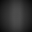 Metallic honeycomb background