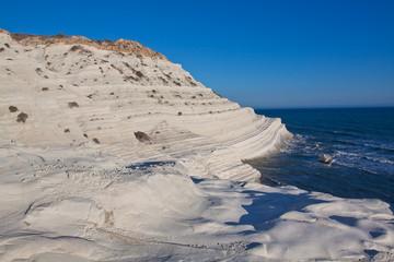 Scala dei Turchi - limestone rocks in Agrigento Italy