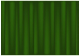 Beautiful Green Color of Banana Leaf Background
