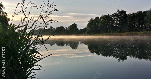 canvas print picture Stille Welt