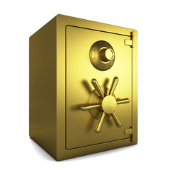 Golden safe