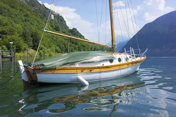 Barca sul Lago di Idro