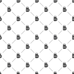 Vector seamless pattern, beer