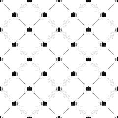 Vector seamless pattern, business bag