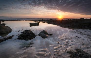 Sandymouth Beach near Bude