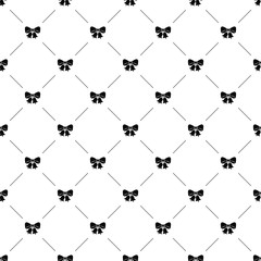 Vector seamless pattern, jingle bells