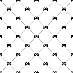 Vector seamless pattern, joystick