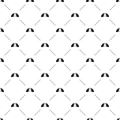 Vector seamless pattern, hand