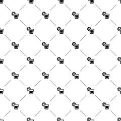 Vector seamless pattern, tequila