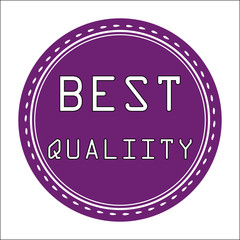 Best Quality Icon, Badge, Label or Sticke